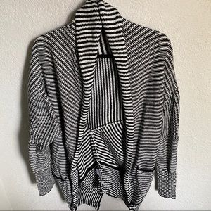 Vocal Cocoon Striped Sweater